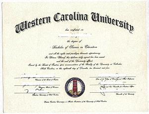 Апостиль США на копии американского диплома Нотариальная копия диплома американского университета